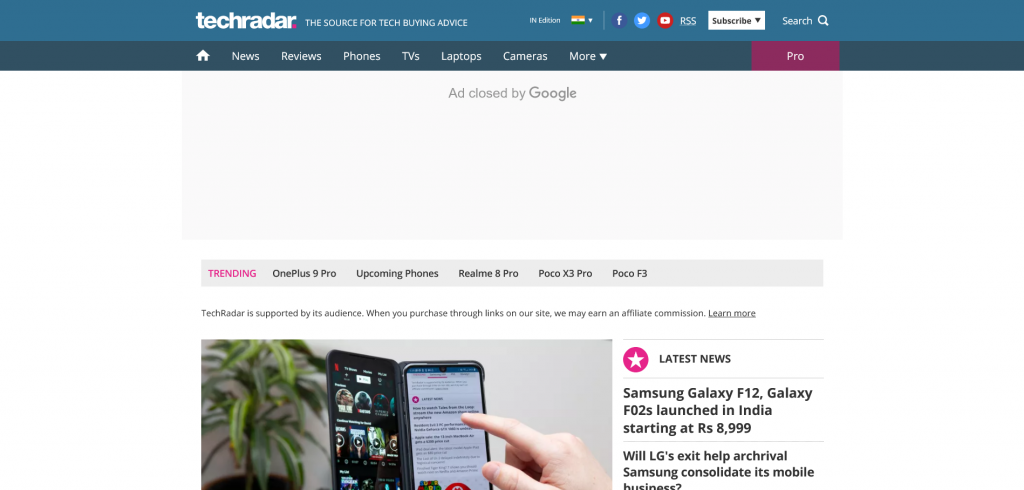 best sites to engage in tech news — TechRadar