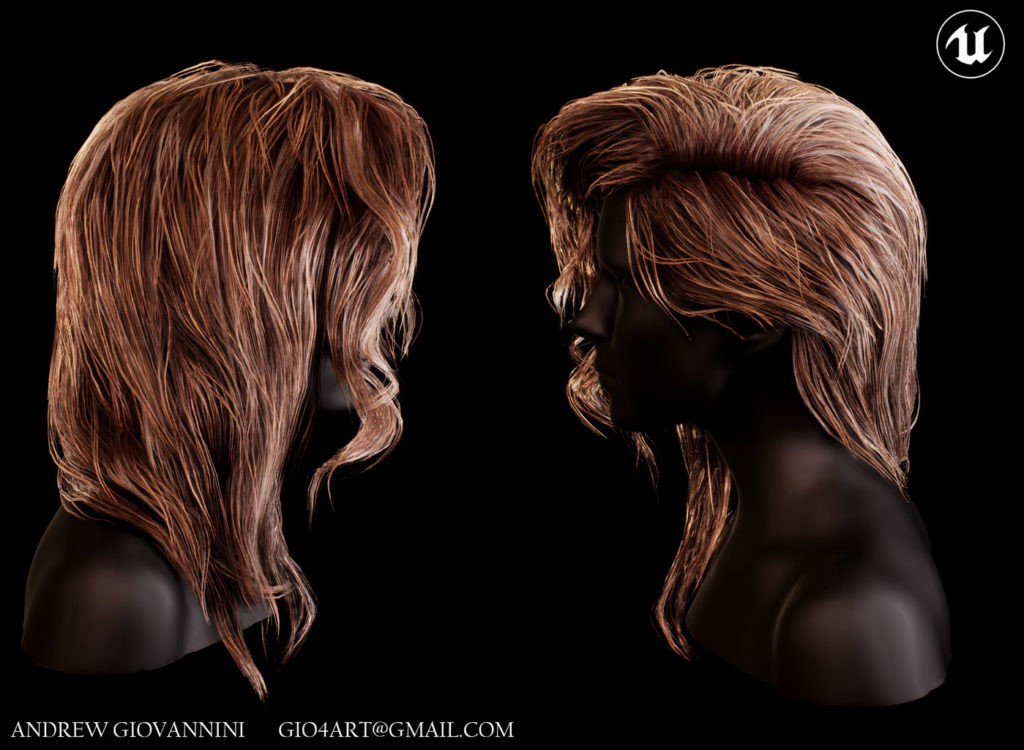 Tips Tricks On Hair For Games Andrew Giovannini Discussed Some Of The By 80level Medium