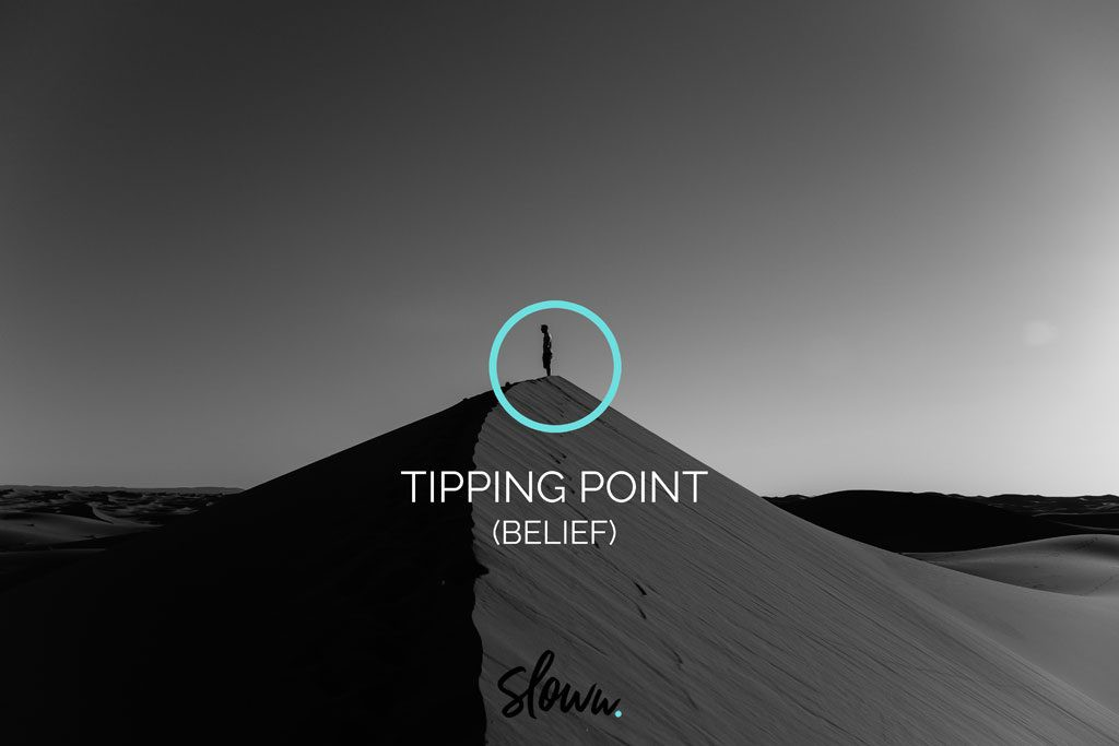 Sloww Downshifting Slow Living Tipping Point Belief