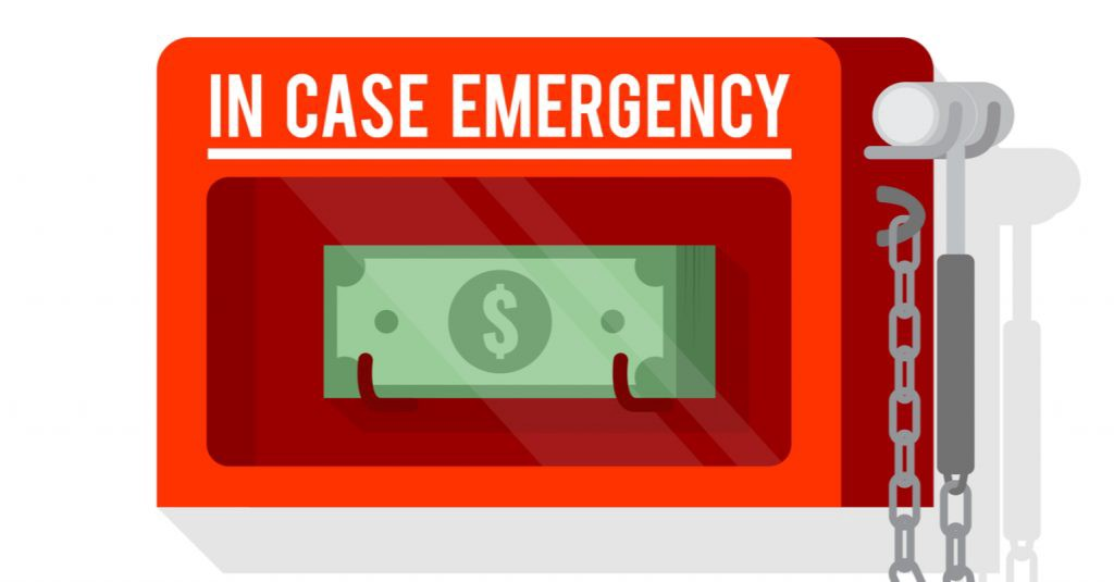 In Case Emegency Fund graphic