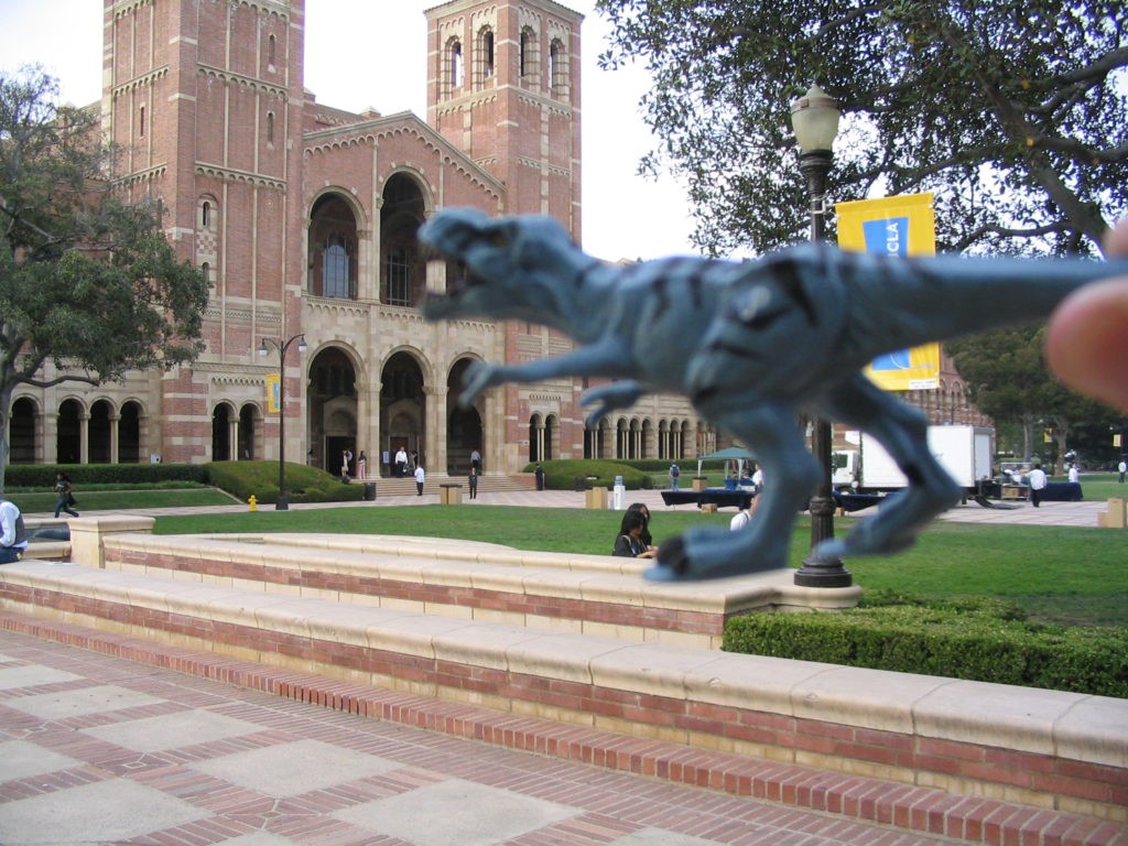 Royce Hall Dinosaur
