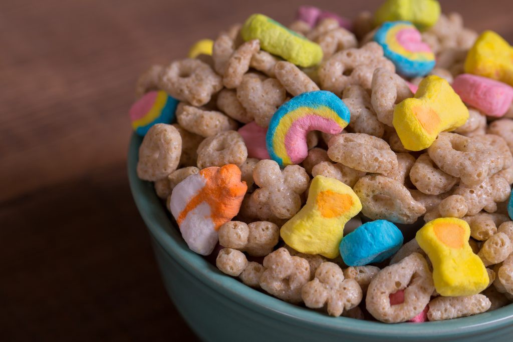 Roundup in Lucky Charms Cereal
