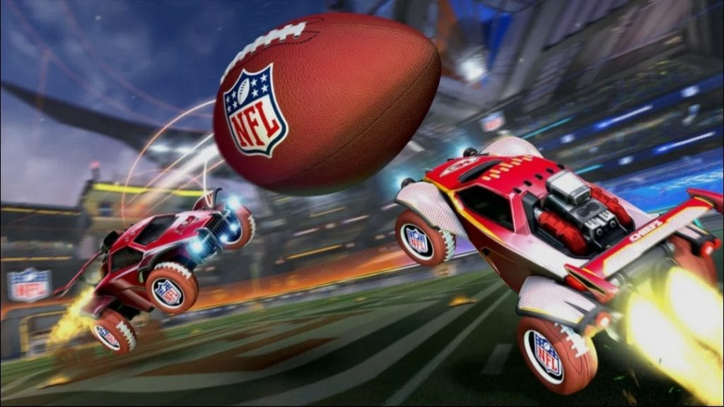Rocket League NFL Super Bowl