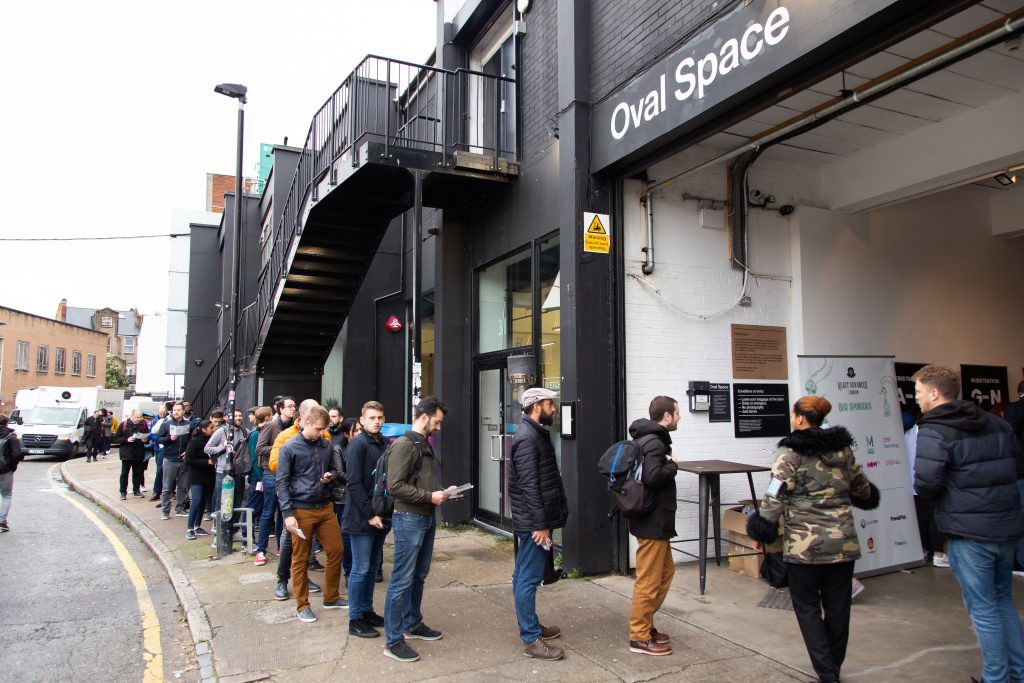 Outside Oval Space
