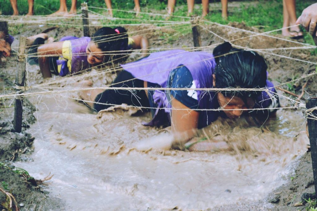 Getting through obstacles can be challenging.