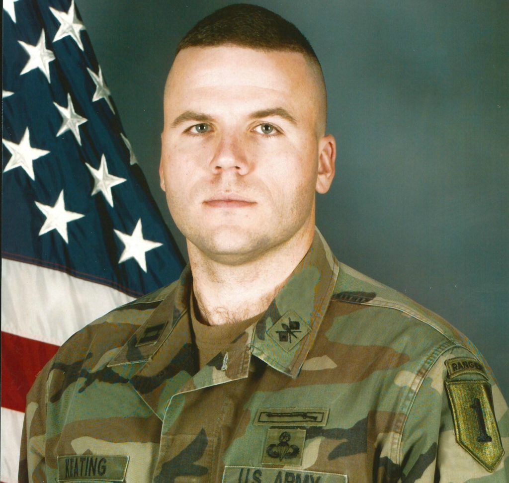 My Company Commander photo - circa 1998.
