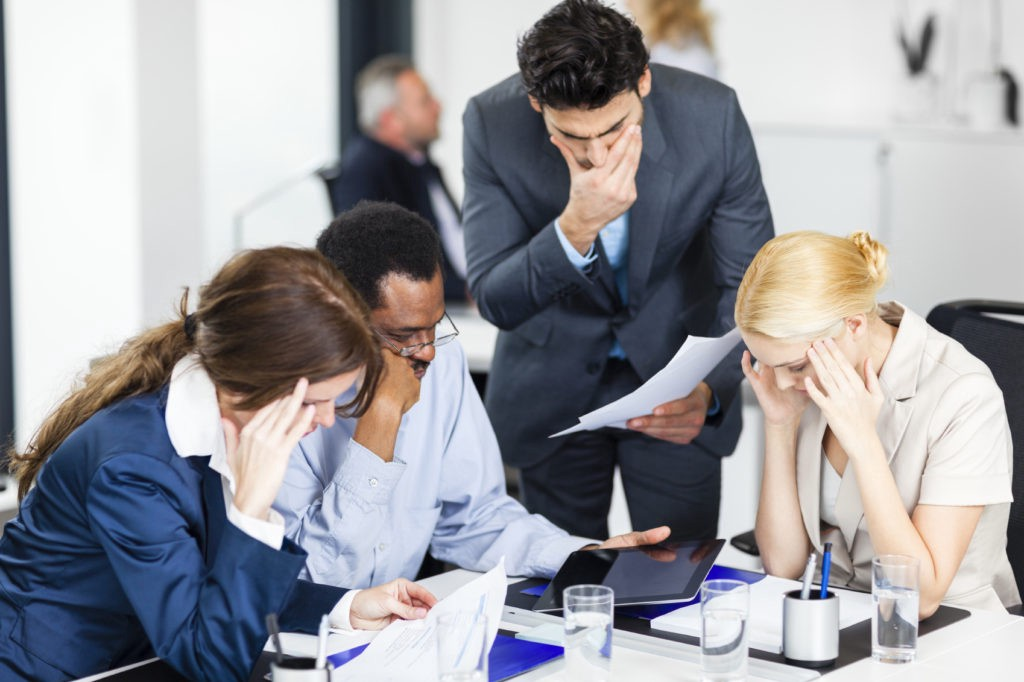 Low morale is a direct result of poor leadership - it will infect the organization
