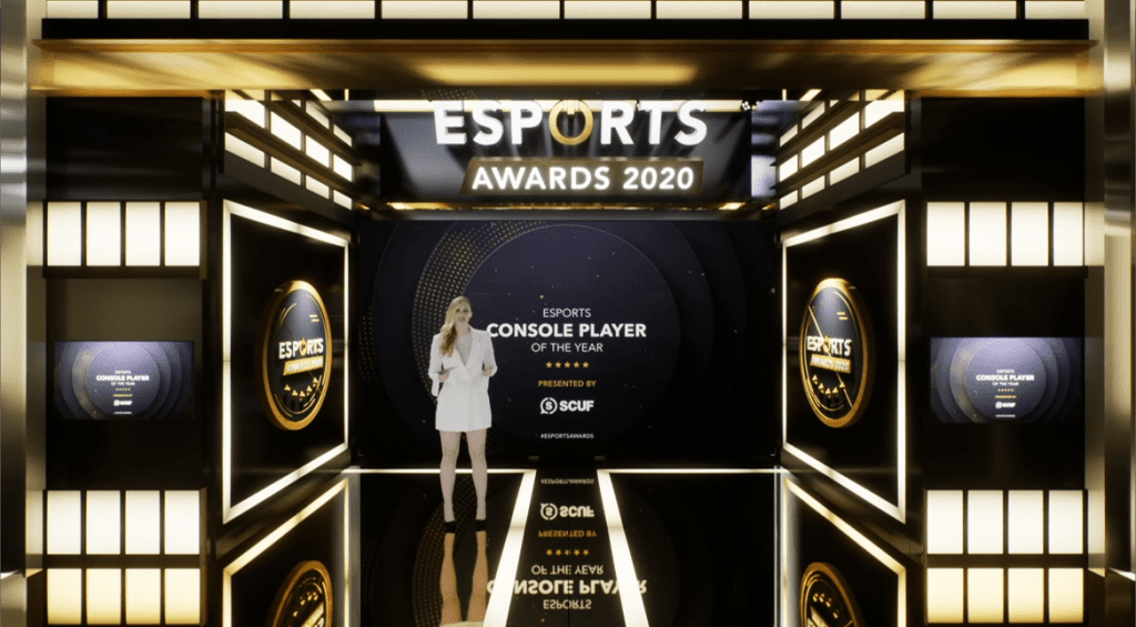 Esports Awards 2020 in virtual studio.