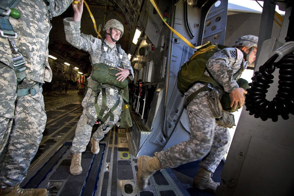 Leaders jump first to show their commitment to the mission.