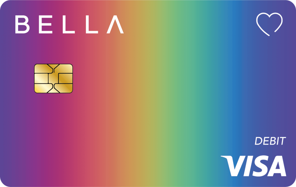 Bella debit card