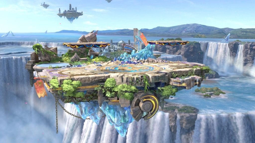 Smash Ulimate adds Small Battlefield as a new map.