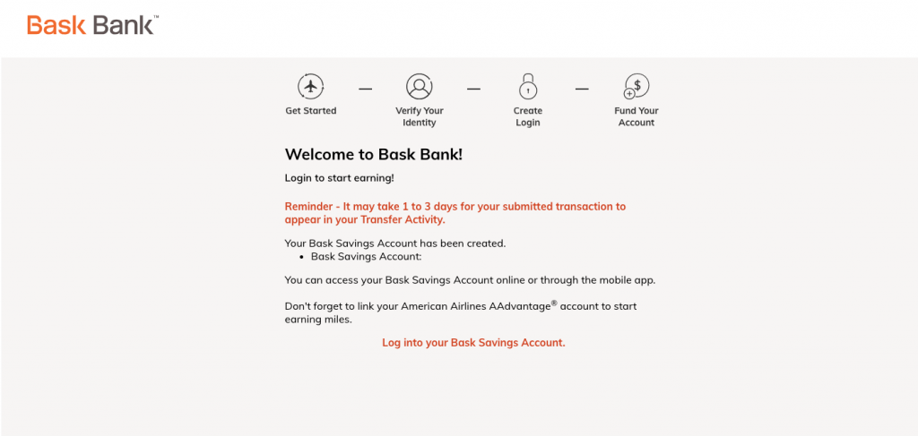 Welcome to Bask Bank