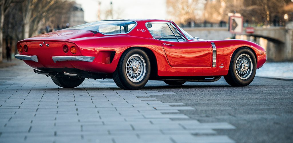 Renzo Rivolta made his money manufacturing refrigerators and the tiny Isetta, but what he truly wanted was a line of GT cars with American power. With Corvette V8 power, the Grifo could reach 165mph. Legendary engineer Giotto Bizzarrini and designer Giorgetto Giugiaro developed the Grifo. (Photo: xxx, Beautiful Machines)