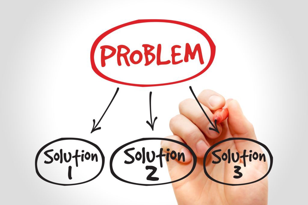Solving problems is a leaders job.