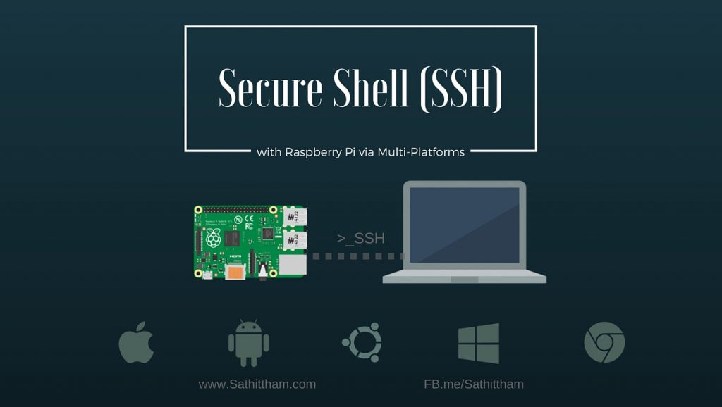 ENG][RPi] SSH (Secure Shell) with Raspberry Pi via Multi