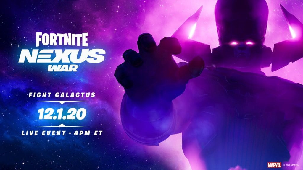 Fortnite Galactus Event Details