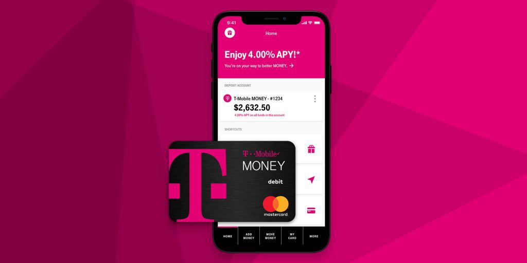 T-Mobile Money app and debit card