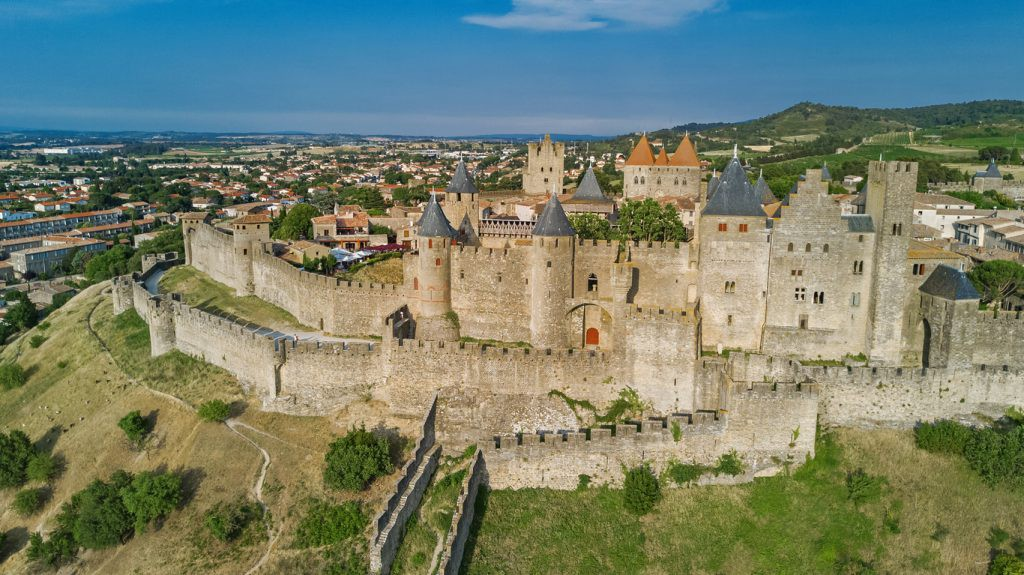Carcassonne medieval city and fortress