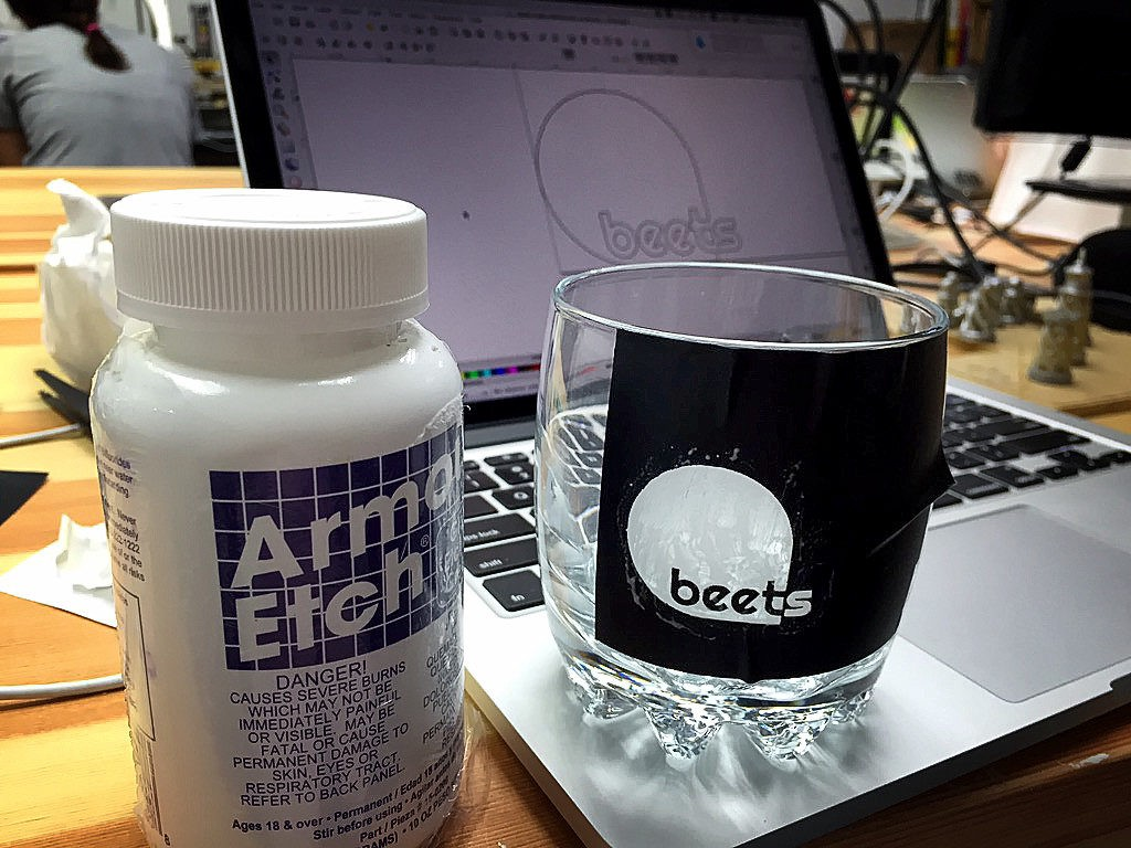 How to Make Company Drinking Glasses with Your Logo