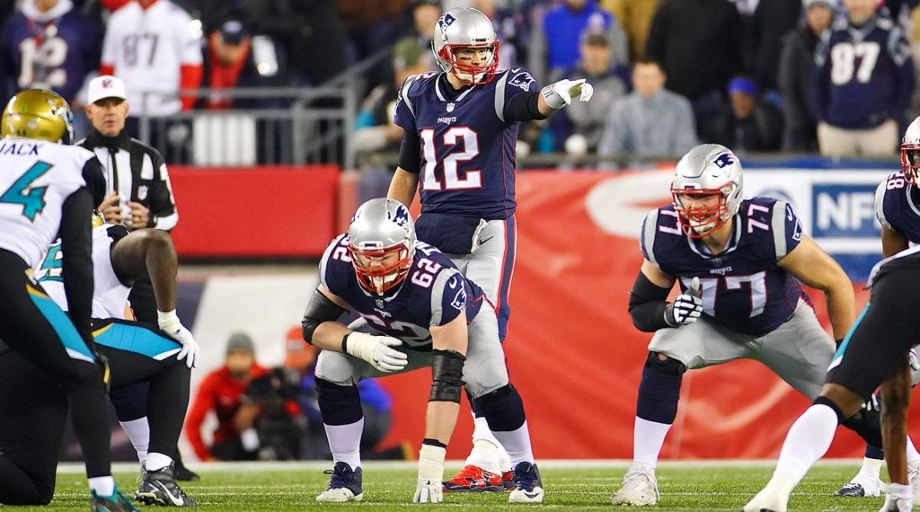 Tom Brady is known for his calmness under pressure while leading his team to victory.