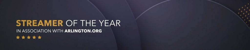 Esports Award 2020 - Streamer of the Year