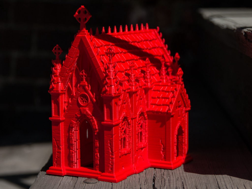 Fantastic World of 3D Printed Tabletop Games, Dioramas and Dice