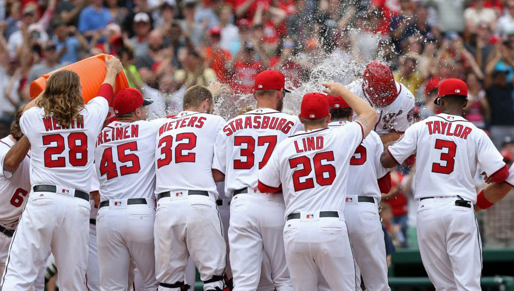 The Washington Nationals are highly successful during the season, but not in the playoffs. Credit: Geoff Burke-USA TODAY