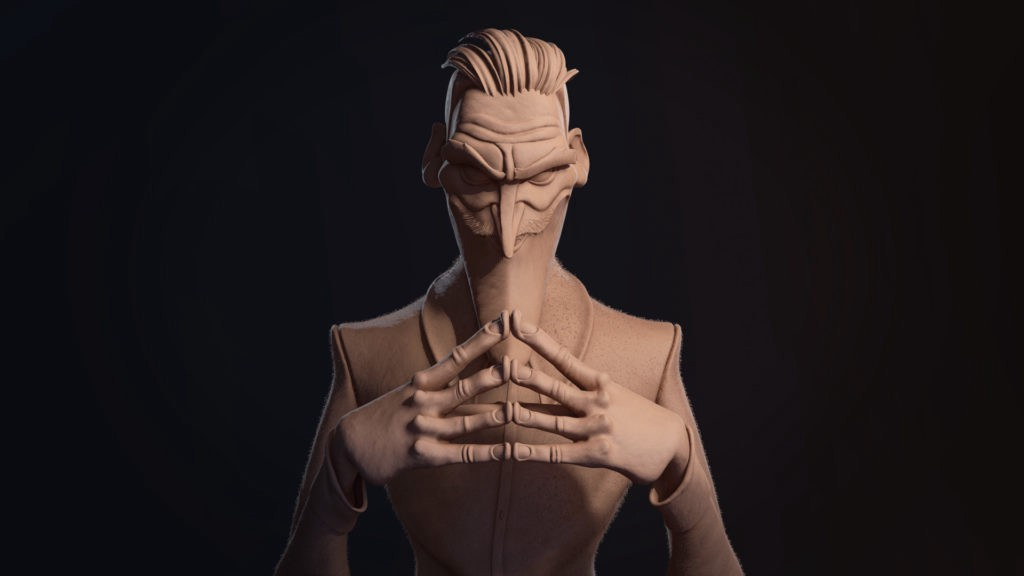 Sculpting 3D Characters with a Story - 80Level - Medium