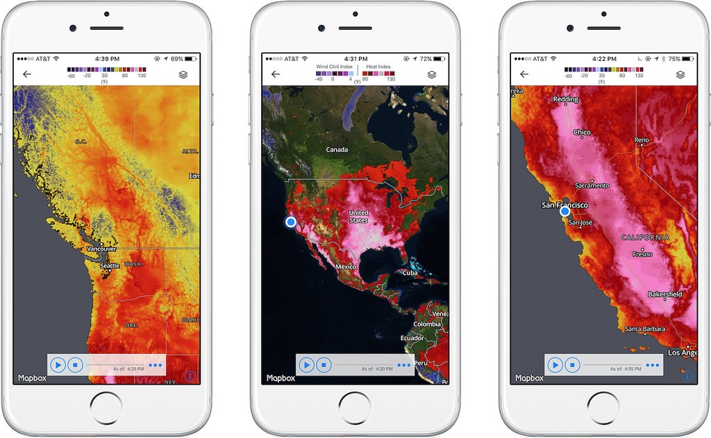 Mapbox now powers The Weather Channel App on iOS - Points of