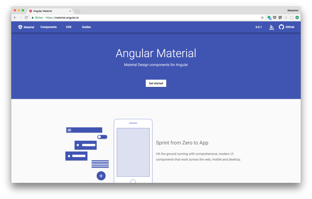 Angular Material And Angular 6 — Material Design For Angular