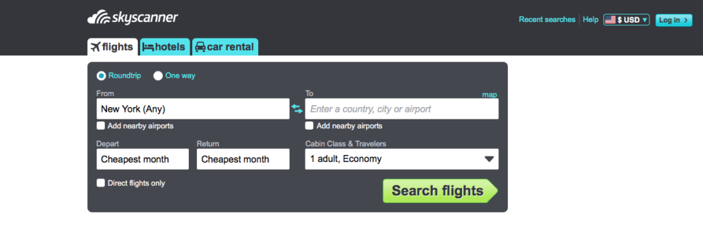 5 Best Websites for Finding Cheap Flights Without A