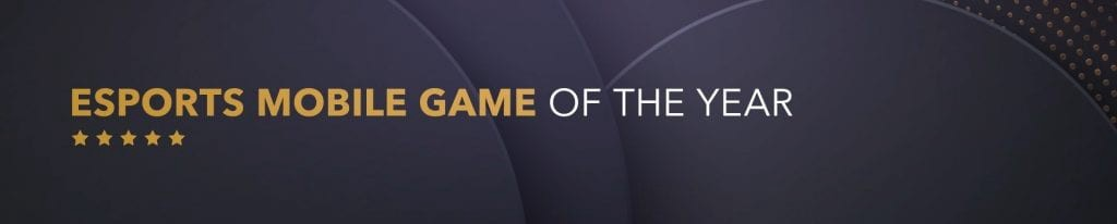 Esports Mobile Game of the Year