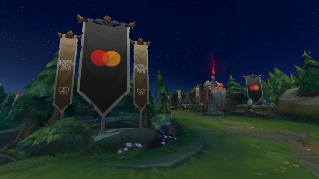Summoner's Rift Arena Banner going into League of Legends