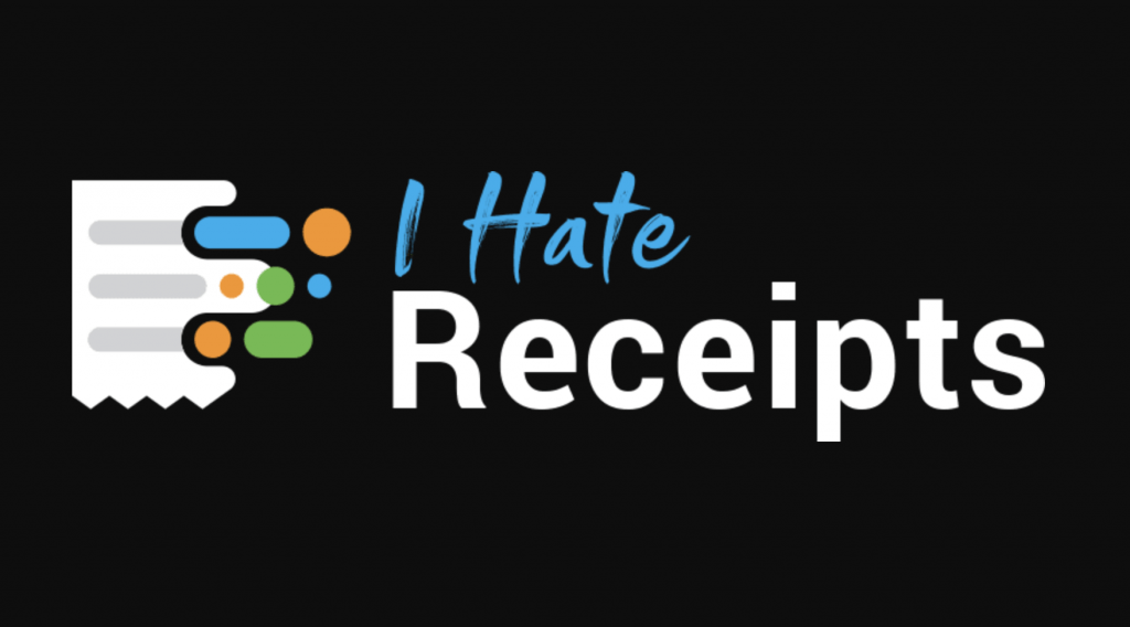 I Hate Receipts logo