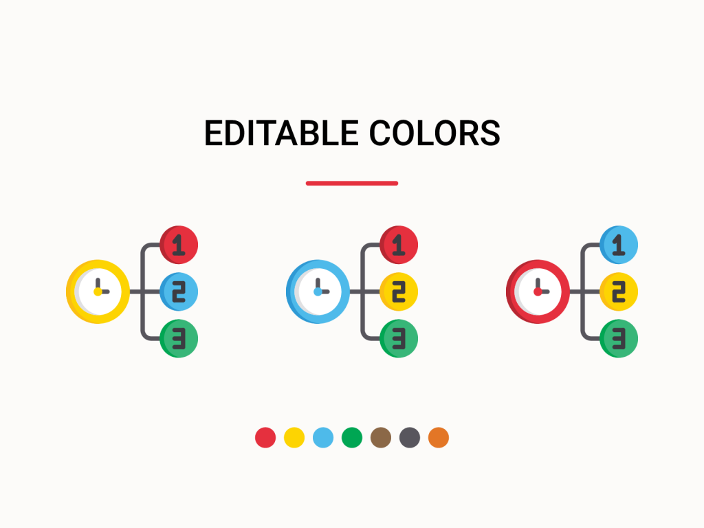 Editable colors