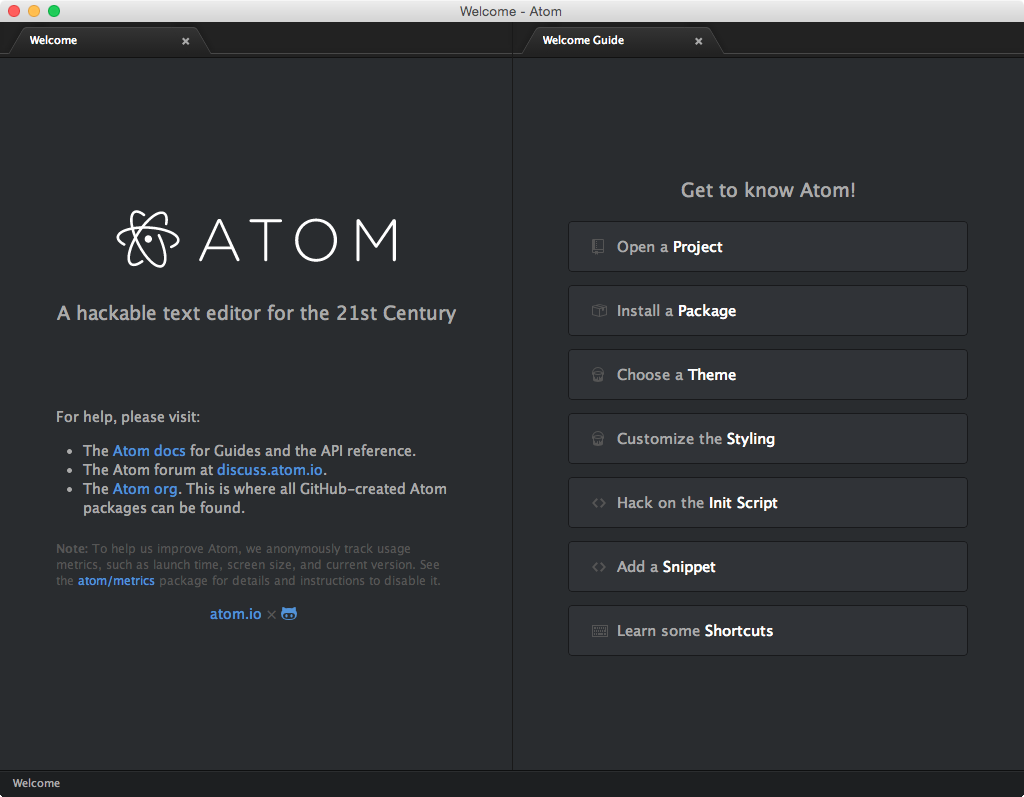 Using Atom For Your First HTML&CSS Coding - Zakhar Day - Medium