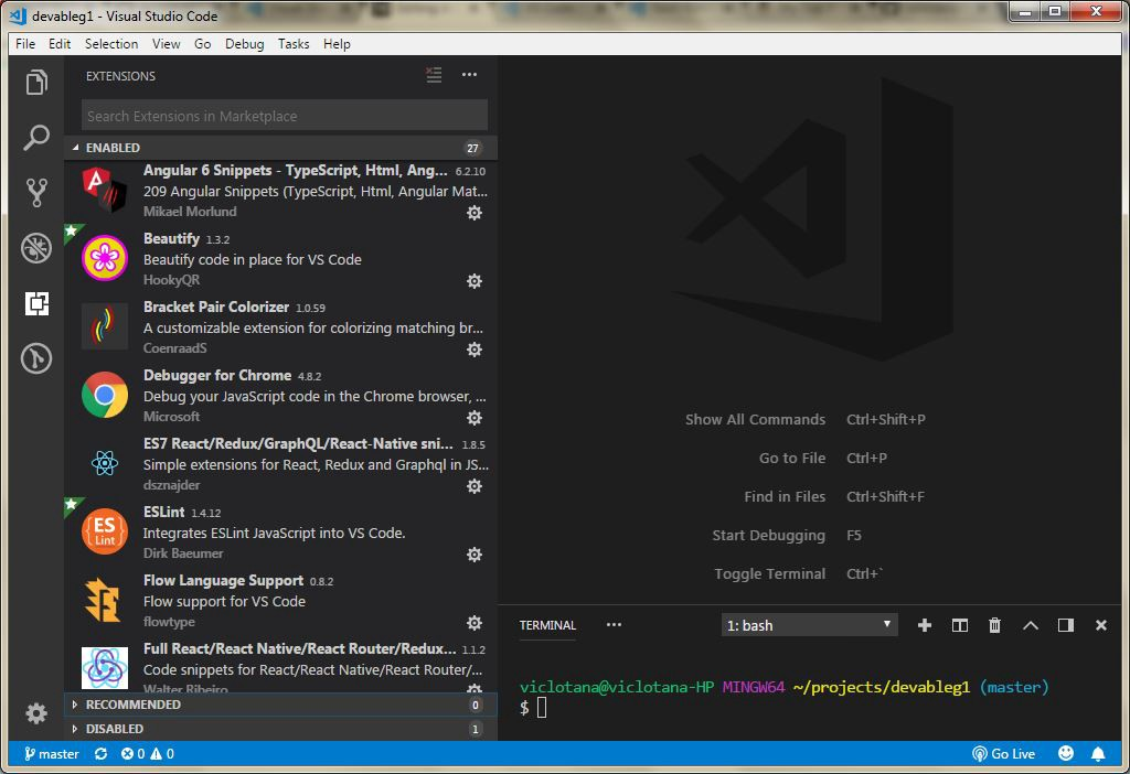 A Convincing Case for Visual Studio Code - Bits and Pieces