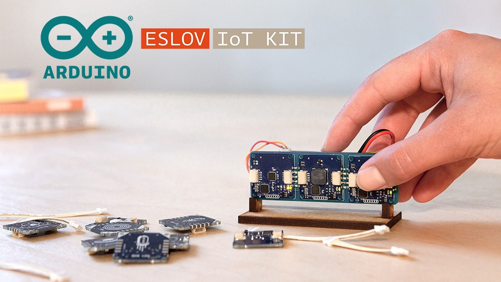 ESLOV IoT Invention Kit Lets You Create Connected Devices in