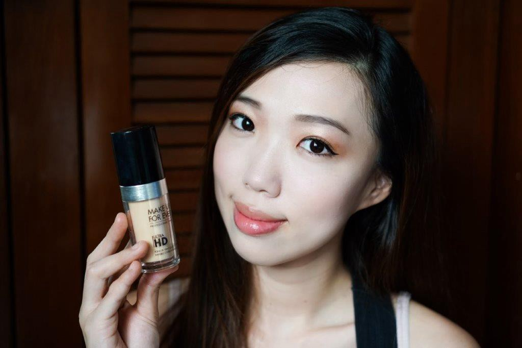 Review Swatches Make Up For Ever Ultra Hd Foundation In Y215 By Elvira Edison Medium