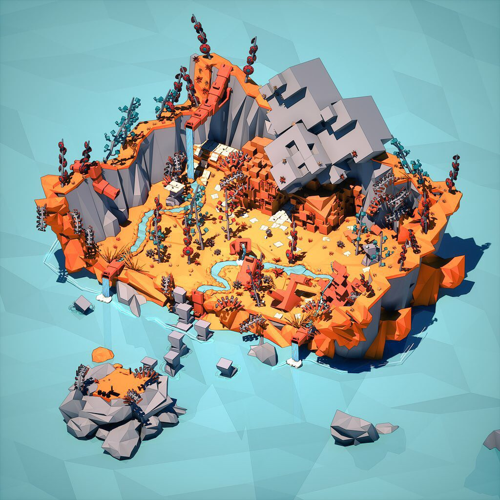 Blocks Isle: A Two Week Project with Blocks and Unreal Engine
