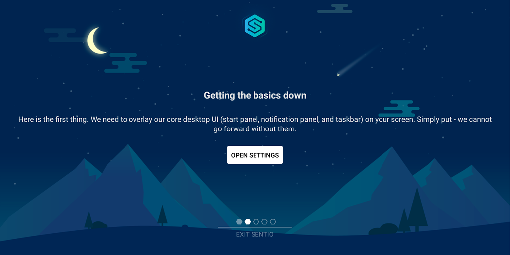 Welcome to your new Sentio Desktop — Onboarding Explained