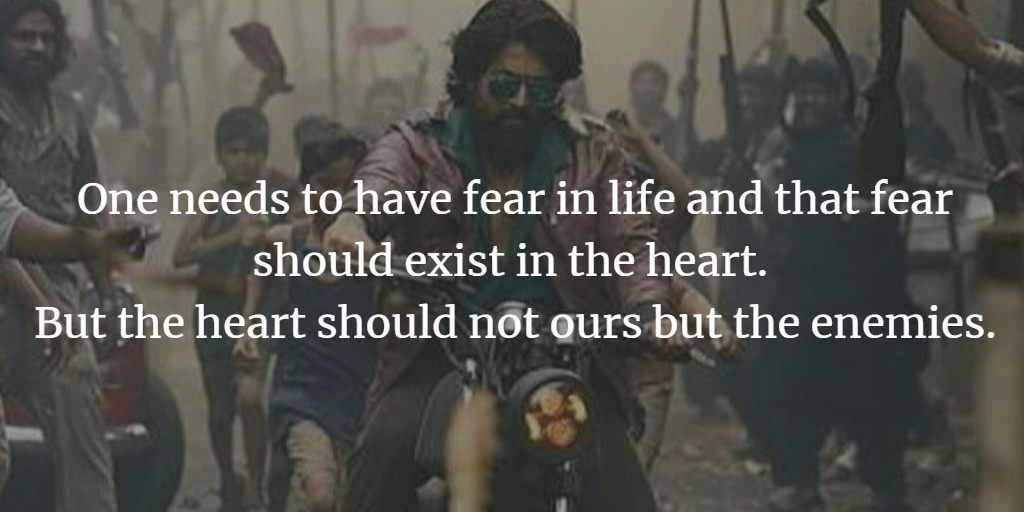 KGF Chapter-1 Movie— Top 12 Quotes and Dialogues  - Ramsri