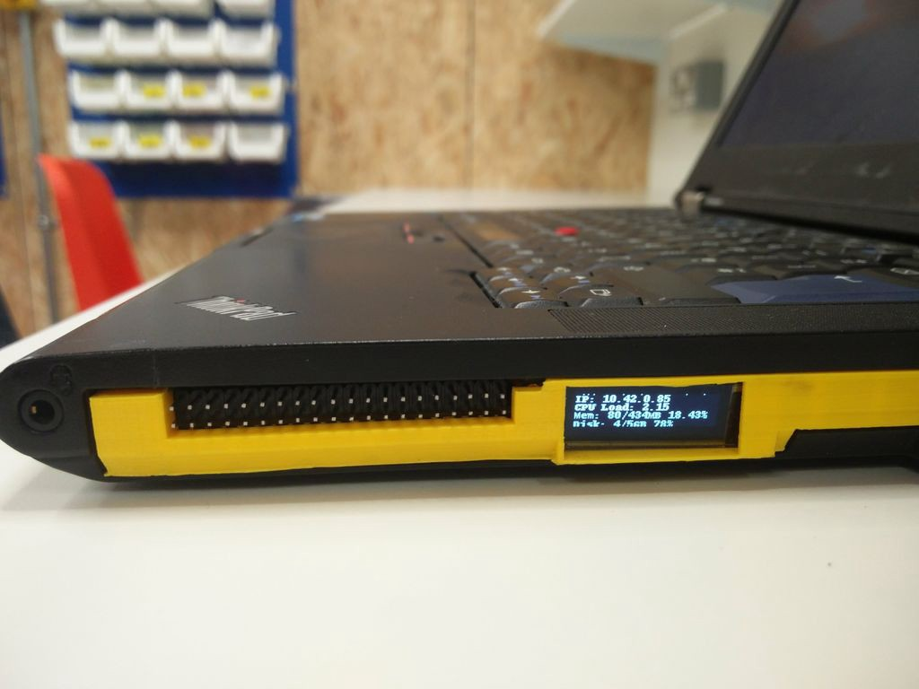 Repurpose Your Laptop's Unused Optical Drive Bay for Your