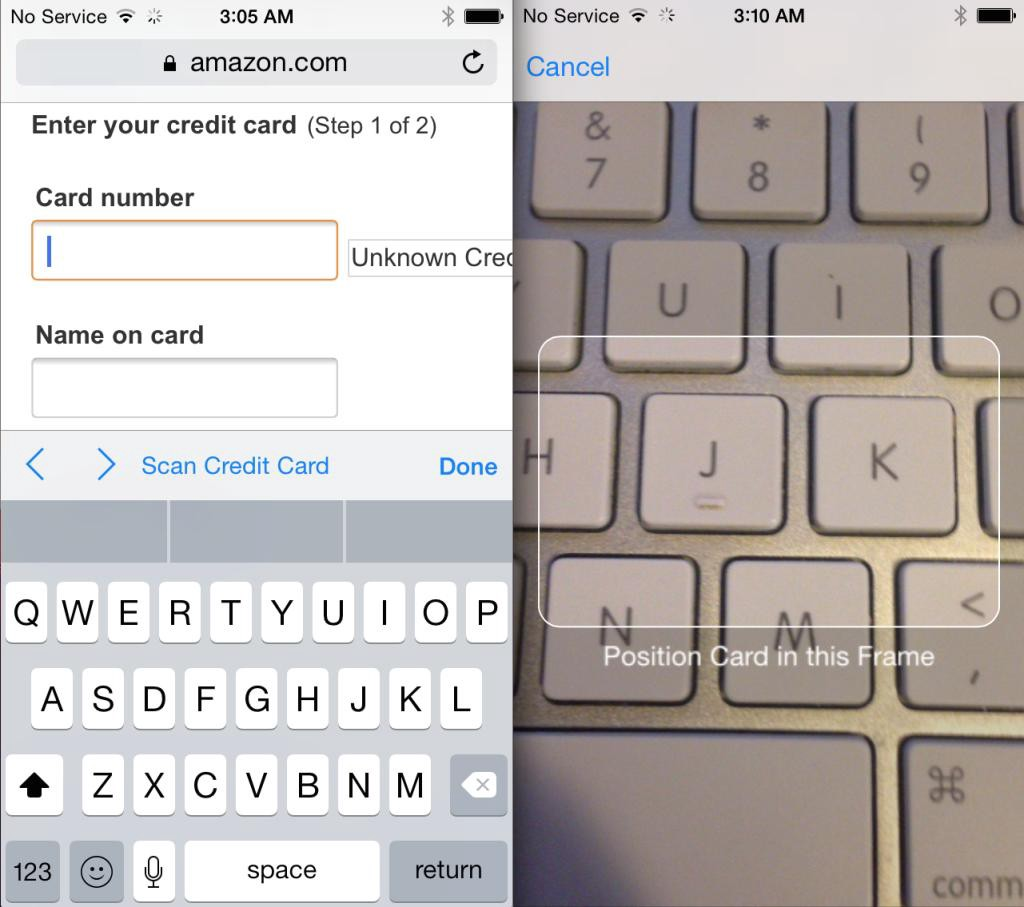 How to Simplify the Process of Credit Card Data Input on Mobile