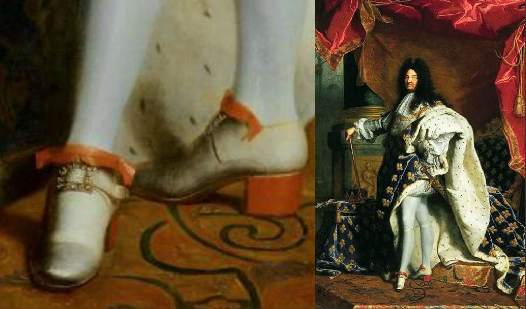 e7f20e1a6e8 Did you know that the first Red bottoms were created for men?