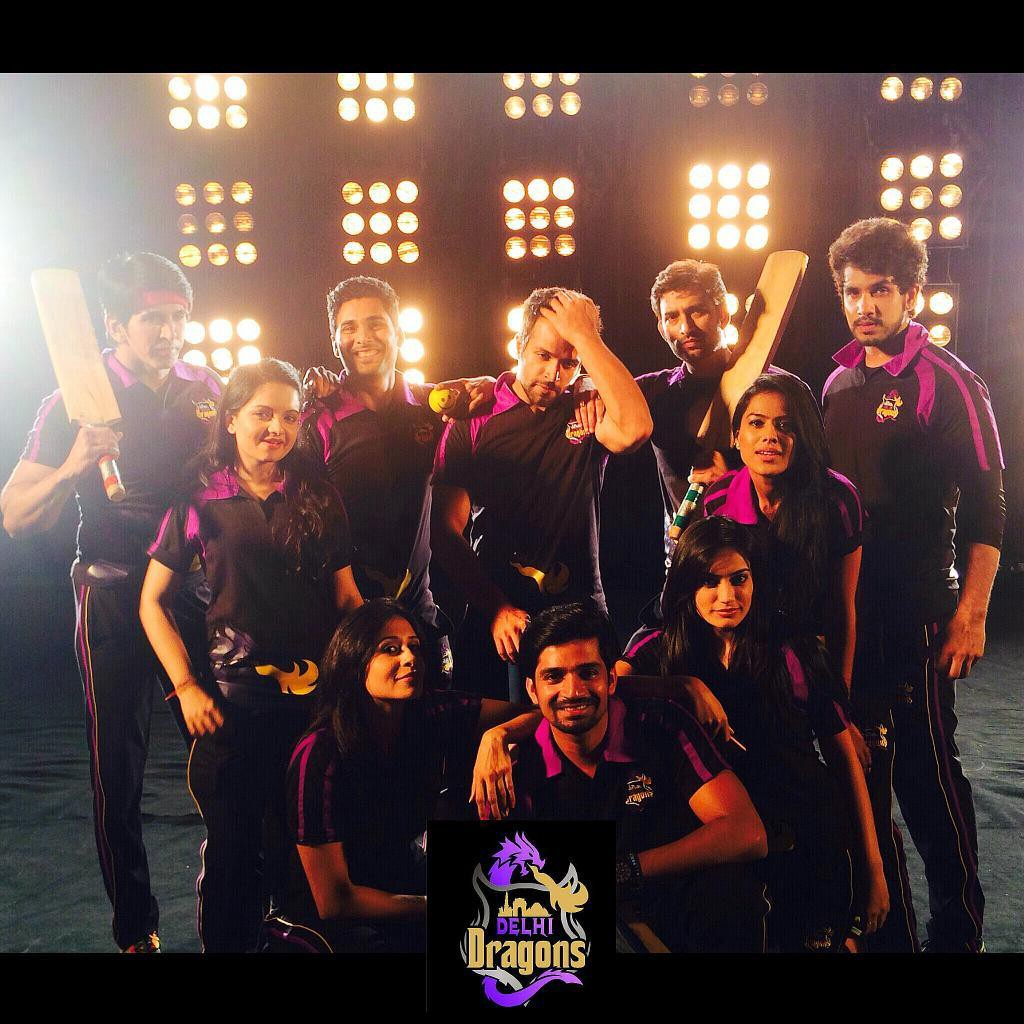 Small Screen Actors Enjoy Cricket With Box Cricket League