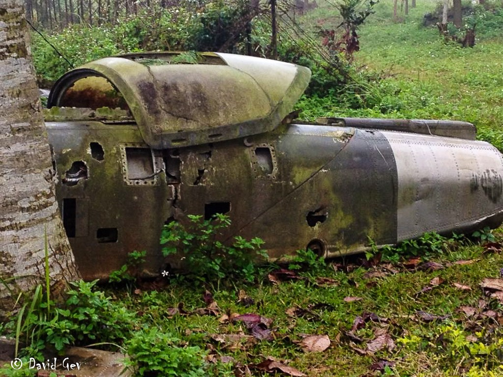 Helicopter remains at Khe Sanh