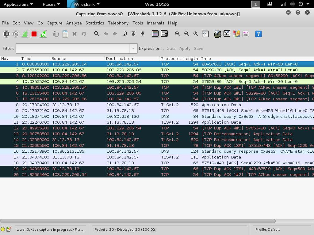 Wireshark Packet Sniffer Usage in Kali Linux and Other