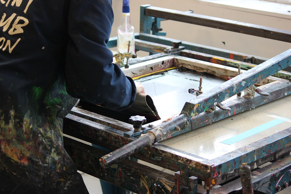 A beginner's guide to screen printing, by a complete beginner