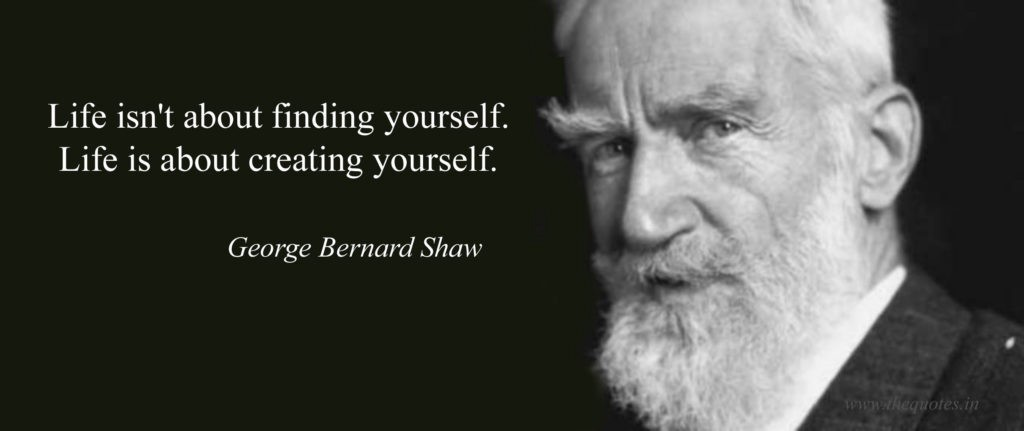 quote by george bernard shaw about personal branding and reputation